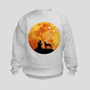 Bluetick Coonhound Kids Sweatshirt