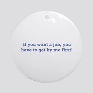 Job / First Ornament (Round)
