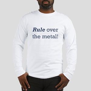 Machinist / Metal Long Sleeve T-Shirt