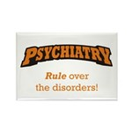 Psychiatry / Disorders Rectangle Magnet (100 pack)