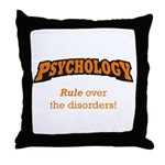 Psychology / Disorders Throw Pillow
