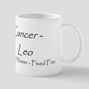 Cancer/Leo Elem. Cusp Mug