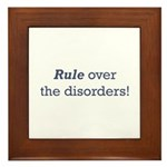 Rule / Disorders Framed Tile