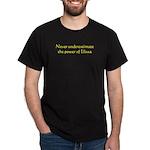 Never unerestimate Elissa Black T-Shirt