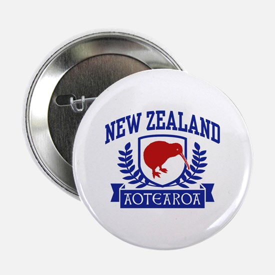 """New Zealand 2.25"""" Button"""