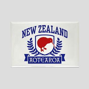 New Zealand Rectangle Magnet