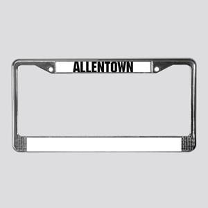 Allentown, Pennsylvania License Plate Frame
