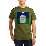 RIP Instant Replay Organic Men's T-Shirt (dark)