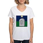 RIP Instant Replay Women's V-Neck T-Shirt