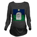 RIP Instant Replay Long Sleeve Maternity T-Shirt