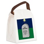 RIP Instant Replay Canvas Lunch Bag