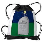 RIP Instant Replay Drawstring Bag