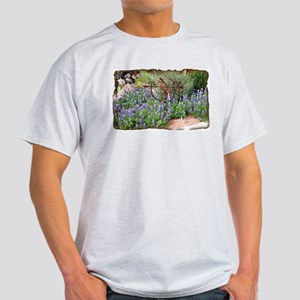 Texas Spring Ash Grey T-Shirt