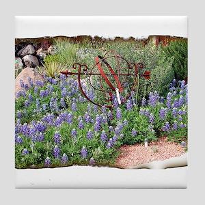 Texas Spring Tile Coaster