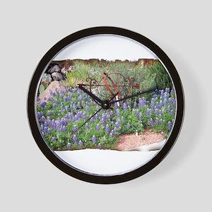 Texas Spring Wall Clock