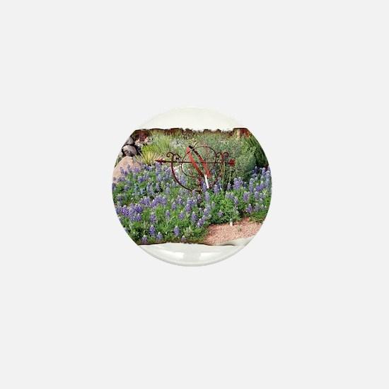 Texas Spring Mini Button