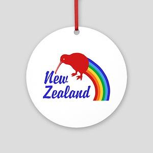 New Zealand Ornament (Round)