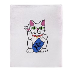 ILY Neko Cat Throw Blanket