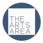 The Arts Area Round Car Magnet