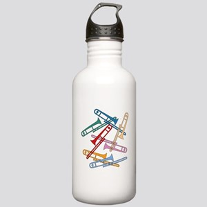 Colorful Trombones Stainless Water Bottle 1.0L
