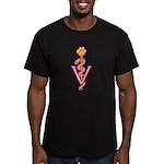 VET! Men's Fitted T-Shirt (dark)