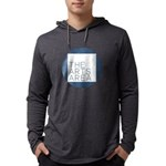 The Arts Area Mens Hooded Shirt