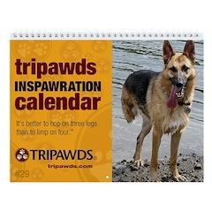 Tripawds Wall Calendar #29 - New For 2020