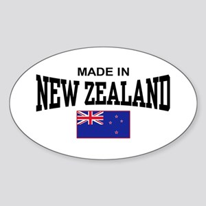 Made In New Zealand Sticker (Oval)