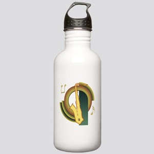 Saxophone Deco Stainless Water Bottle 1.0L