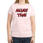 Muay Thai Women's Light T-Shirt