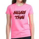 Muay Thai Women's Dark T-Shirt