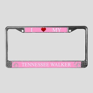 Pink I Love My Tennessee Walker Frame