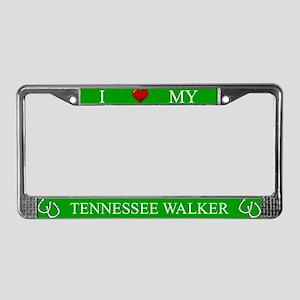 Green I Love My Tennessee Walker Frame