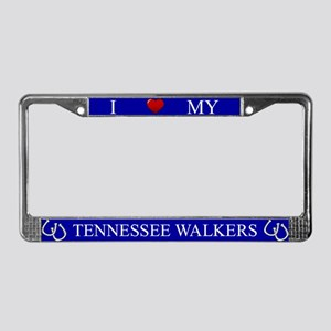 Blue I Love My Tennessee Walkers Frame