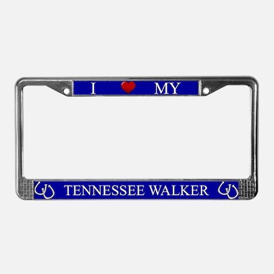 Unique Tennessee walker License Plate Frame