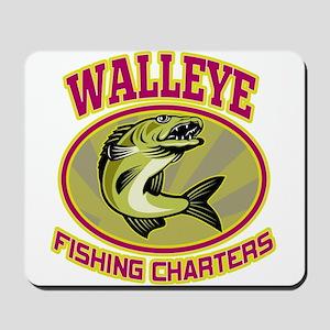 walleye fish Mousepad