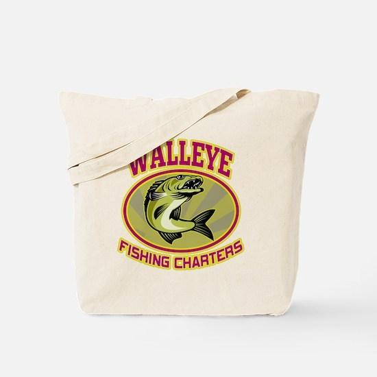 walleye fish Tote Bag