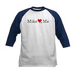 Mike Loves Me Kids Baseball Jersey