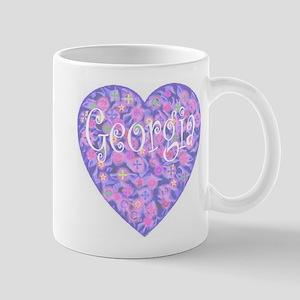 Georgia Heart Mug