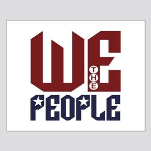 """We the People"" Small Poster"