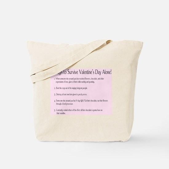Valentine's Survival Tote Bag