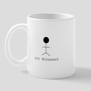 "Stick Figure ""not Mohammed"" Mug"