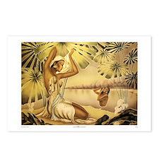 'Bathing Hawaiian Beauties' Postcards (Package of