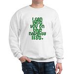Naughty List - Christmas Sweatshirt