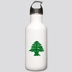 Cedar Tree of Lebanon Stainless Water Bottle 1.0L