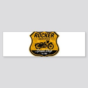 Vintage Cafe Racer Sticker (Bumper)