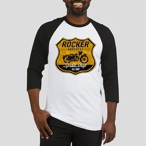 Vintage Cafe Racer Baseball Jersey