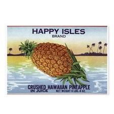 'Happy Isles' Postcards (Package of 8)