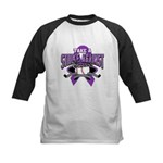 Strike Pancreatic Cancer Kids Baseball Jersey