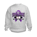 Strike Pancreatic Cancer Kids Sweatshirt